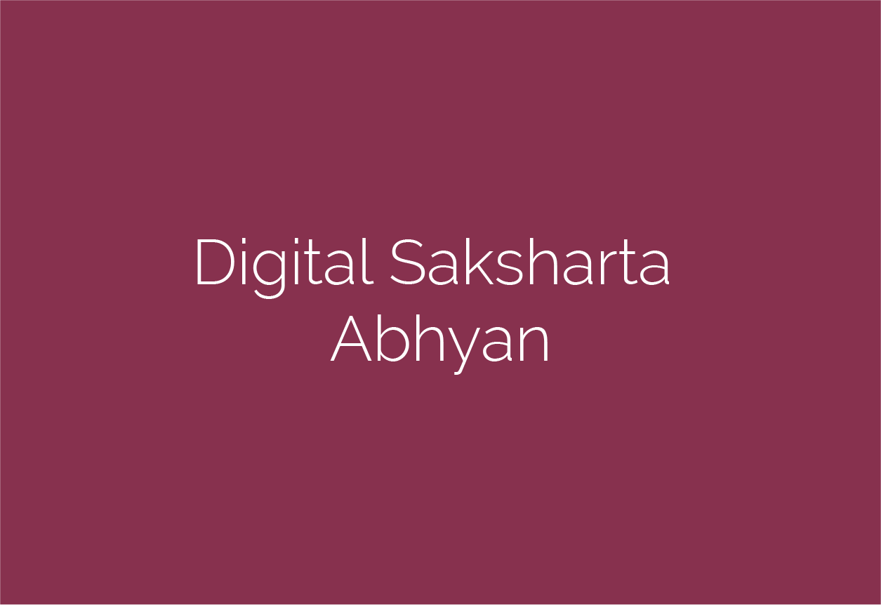 Digital Saksharta Abhiyan – DISHA
