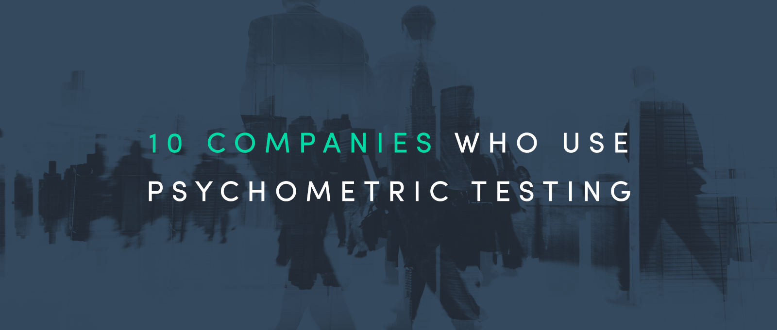 Usage of psychometric test in corporate