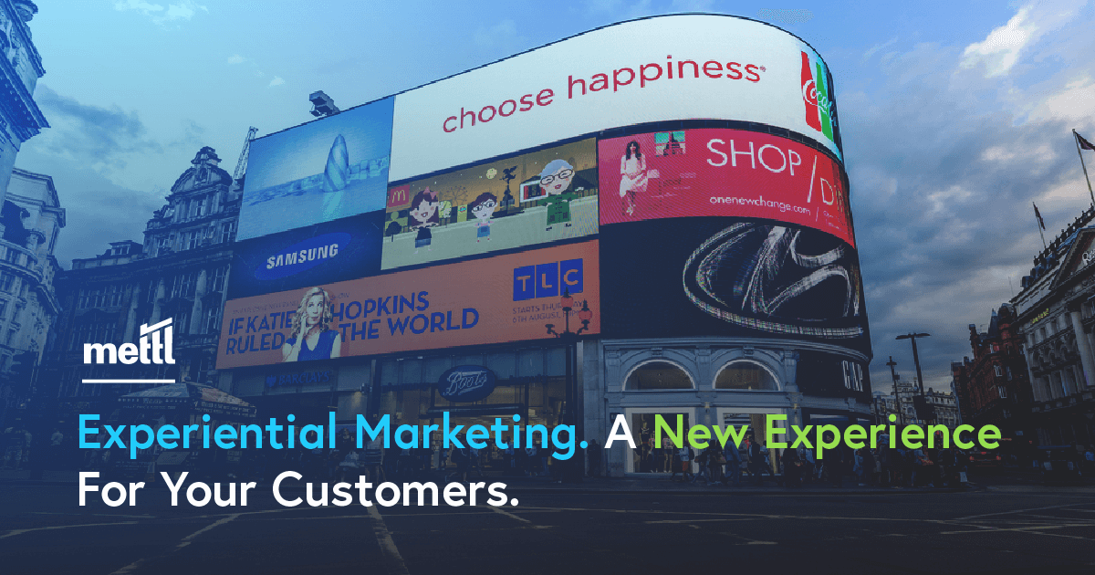 Experiential Marketing: Arrival of the New Age Marketing