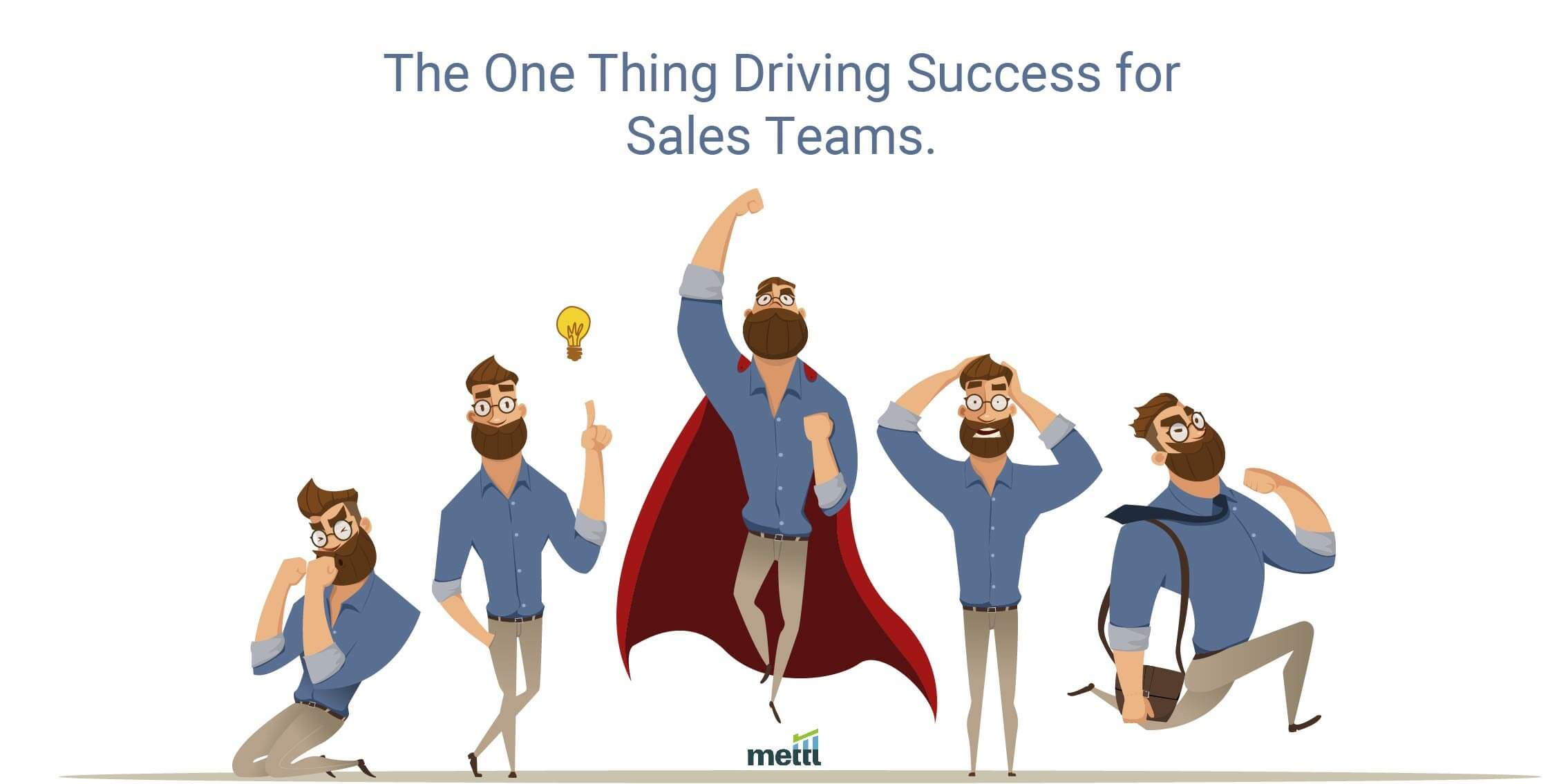 The One Thing Driving Success for Sales Teams, World Over